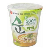 Instant Cup Noodles Soon Veggie Cup (農心素食麵)