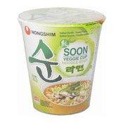 Instant Cup Noodles Soon Veggie Cup (農心素食麵)