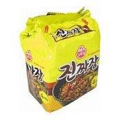 Instant Noodles Multipack Jin Jjajang Ramen (韓國炸醬麵)