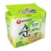 Instant Noodles Multipack Soon Veggie Ramyun Noodle Soup (農心純素麵)