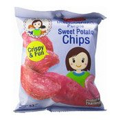 Purple Sweet Potato Chips (紫薯片)