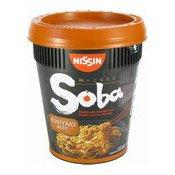 Soba Cup Noodles With Yakisoba Sauce (Sukiyaki Beef) (日清牛肉鍋麵)