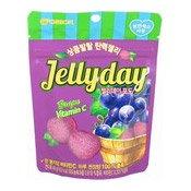 Jellyday Gummy Candy (Grape Flavour) (葡萄軟糖)