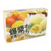 Mango Mochi Rice Cakes (皇族芒果麻糬)