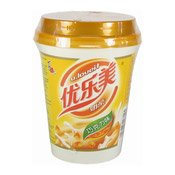 U-Loveit Instant Milk Tea Drink With Nata De Coco (Chocolate Flavour) (優樂美奶茶(朱古力味))