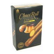 Choco Roll Cream Wafer (Pudding) (義美朱古力卷 (布丁))