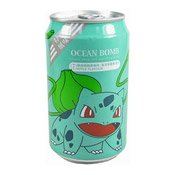 Natural Deep Sea Sparkling Water (Apple Bulbasaur Pokemon) (小精靈汽泡水 (蘋果))