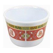 Plastic Tea Cup (Oriental Red Pattern) (紅萬壽膠茶杯)