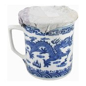 Mug With Lid (Blue Dragon) (藍龍茶杯連蓋)