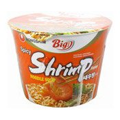 Big Bowl Instant Noodles (Spicy Shrimp) (韓國蝦味碗麵)