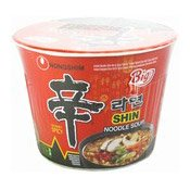 Big Bowl Instant Noodles (Shin Cup Hot & Spicy) (農心辛碗拉麵)