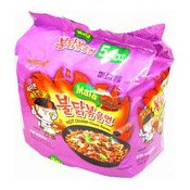 Hot Chicken Ramen Instant Noodles Multipack (Mala Flavour) (三養麻辣雞麵)