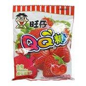 QQ Gummy Candies (Strawberry Flavour) (旺仔QQ糖 (草莓味))