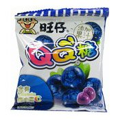 QQ Gummy Candies (Blueberry Flavour) (旺仔QQ糖 (藍莓))