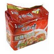 Instant Noodles Multipack (Roast Beef) (康師傅紅燒牛肉麵)