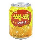 Sac Sac Orange Juice Drink With Pulp (樂天橙汁汽水)