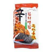 Seaweed Snack (Kimchi) (泡菜味紫菜小食)