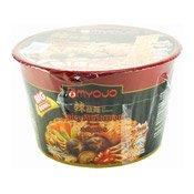 Instant Bowl Noodles (Spicy Mushroom Flavour) (明星香辣香菇碗麵)