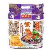 Purple Potato Noodles (紫薯麵)