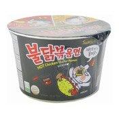 Hot Chicken Instant Bowl Noodles Ramen (三養香辣雞味碗拉麵)
