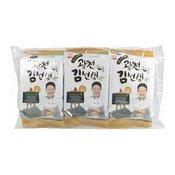 Gwang-Cheon Nonghyup Roasted laver (紫菜小食)