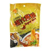 Spicy Broad Noodle (火吧蘭州流汁寬粉)