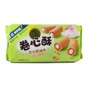 Crisp Cookies Cream Flavour Roll (徐福記奶油卷心酥)