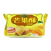 Mango Sandwich Cookie (徐福記芒果酥)