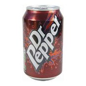 Dr Pepper Sparkling Fruit Flavour Soft Drink (胡椒博士汽水)