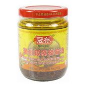 Chiu Chow Silver Fish Chilli Oil (冠存銀魚辣椒油)