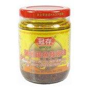 Chiu Chow Silver Fish Chilli Oil (冠存銀魚辣椒油)