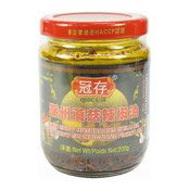 Chiu Chow Mushrooms Chilli Oil (冠存潮州蘑菇辣椒油)