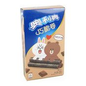 Wafer Rolls (Chocolate Flavoured) (奧利奧威化卷 (巧克力))