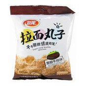 Wheat Cracker Balls (Black Pepper Steak Flavour) (拉麵丸子 (黑椒牛扒))