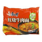 Instant Noodles (Roasted Beef Flavour) (康師傅红燒牛肉麵)