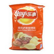 Potato Chips Crisps (Texas Grilled BBQ) (樂事薯片 (燒烤味))