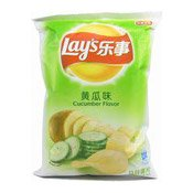 Potato Chips Crisps (Cucumber) (樂事薯片 (黄瓜味))