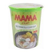 Instant Cup Rice Vermicelli Noodles (Clear Soup) (媽媽清湯杯米粉)