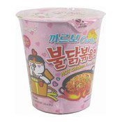 Hot Chicken Instant Cup Noodles (Carbo Cheese & Cream) (三養卡邦尼辣雞杯麵)