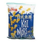 Japanese Crackers Koi Mori (Seaweed Flavour) (上好佳日式魚果(海苔))