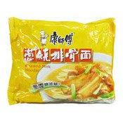 Instant Noodles (Spare Ribs & Spring Onion) (康師傅蔥燒排骨麵)