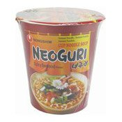 Neoguri Cup Noodle (Spicy Seafood) (農心辣味烏冬麵)