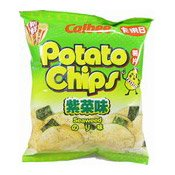 Seaweed Flavoured Potato Chips (卡樂B紫菜薯片)