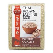 Thai Brown Jasmine Rice (Fragrant) (帆船優質糙米)