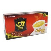 G7 Instant Coffee Mix (3 in 1) (20 Packets) (三合一即溶咖啡)
