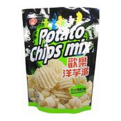 Potato Chips Mix (Japanese Seaweed Flavour Crisps) (九褔紫菜薯片)