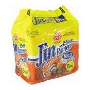 Jin Ramen Instant Noodles Multipack (Mild) (真拉麵 (微辣))