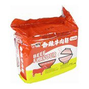 Instant Noodles Multipack (Spicy Beef Flavour) (維力香辣牛肉麵)