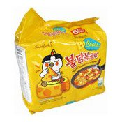 Hot Chicken Ramen Instant Noodles Multipack (Cheese Flavour) (三養芝士辣雞拉麵)