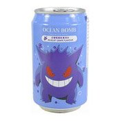 Natural Deep Sea Sparkling Water (Muscat Grape Gengar/Snorlax Pokemon) (小精靈汽泡水 (白葡萄))